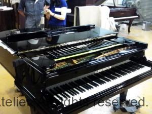 15 ピアノ塗装